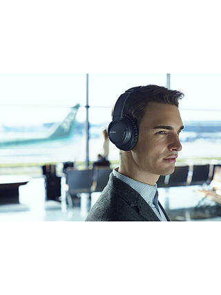 Buy Sony MDR-ZX770BN Noise Cancelling Bluetooth Over-Ear Headphones with Mic/Remote, Black Online at johnlewis.com
