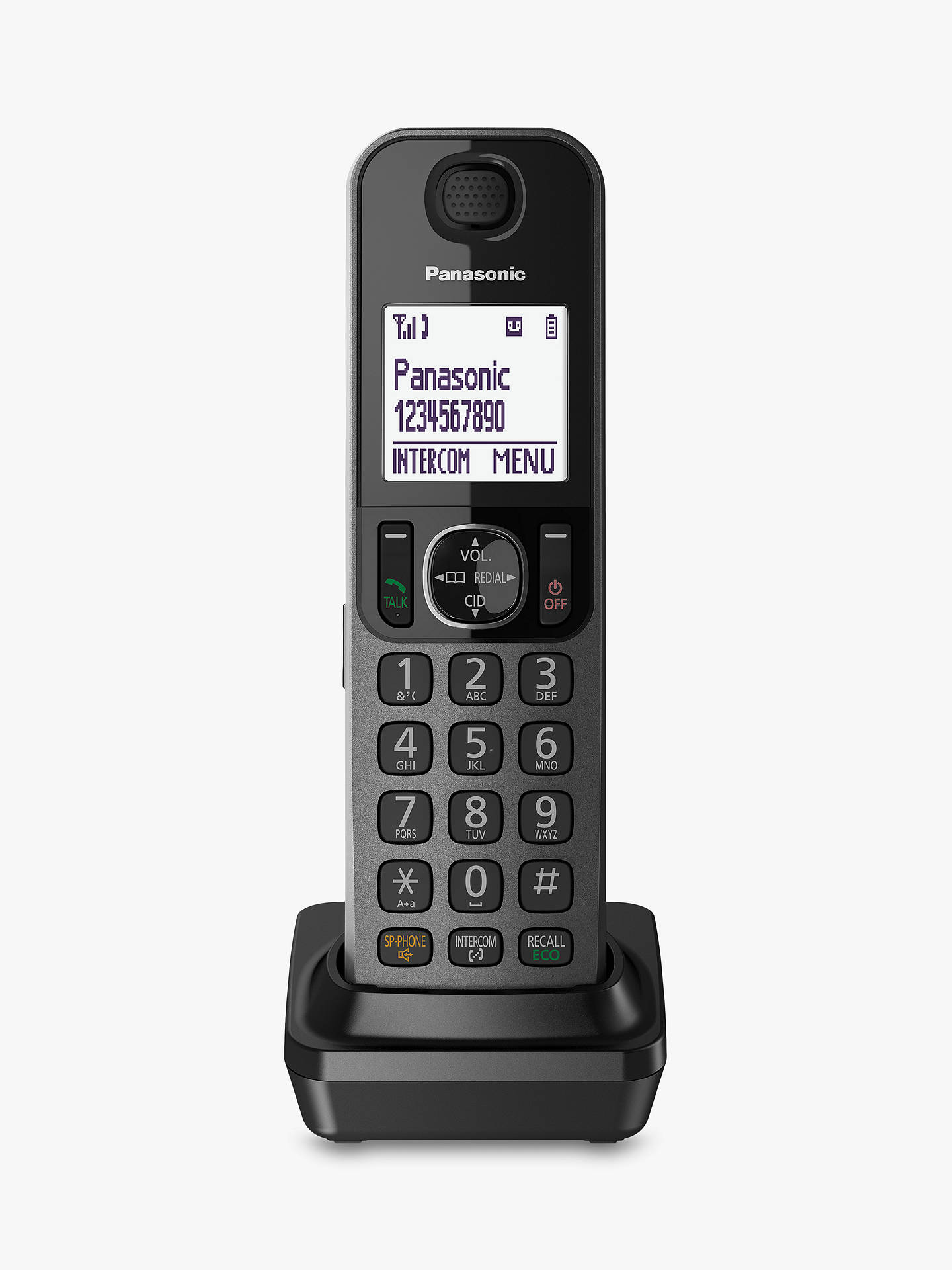 BuyPanasonic KX-TGF320EM Combo Phones and Answering Machine with Nuisance Call Blocker, Single DECT Online at johnlewis.com