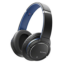 Buy Sony MDR-ZX770BN Noise Cancelling Bluetooth Over-Ear Headphones with Mic/Remote Online at johnlewis.com