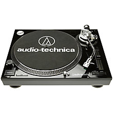 Buy Audio-Technica AT-LP120 USB Turntable Online at johnlewis.com