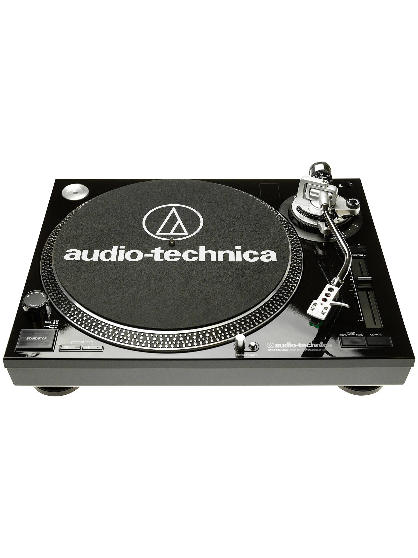 audio technica at lp120 usb turntable at john lewis partners. Black Bedroom Furniture Sets. Home Design Ideas