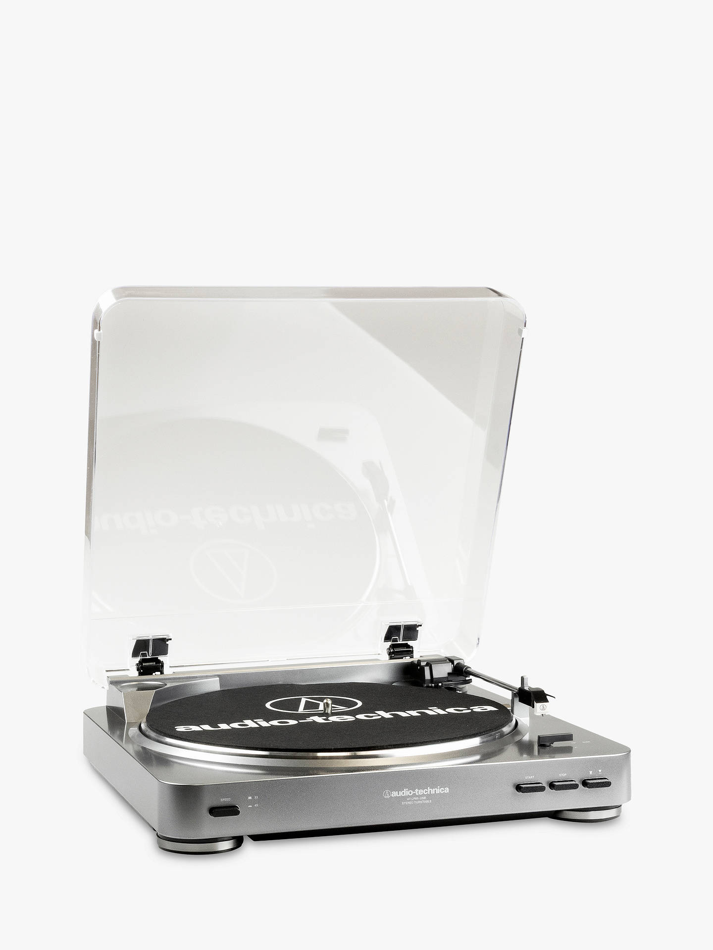 Audio Technica At Lp60 Usb Turntable John Lewis Partners Fully Automatic Belt Drive Stereo Buyaudio Online