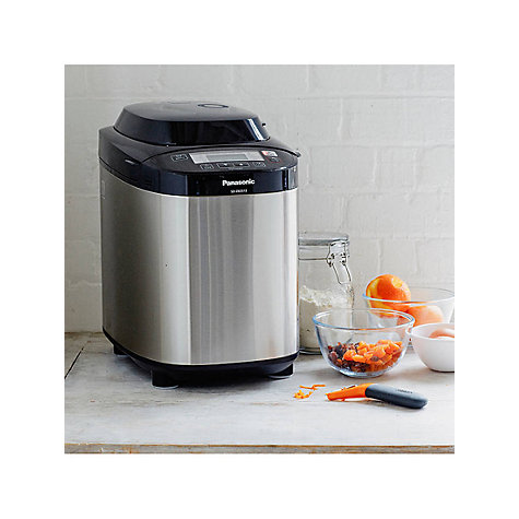 Buy Panasonic SD-ZB2512KXC Bread Maker, Stainless Steel Online at johnlewis.com
