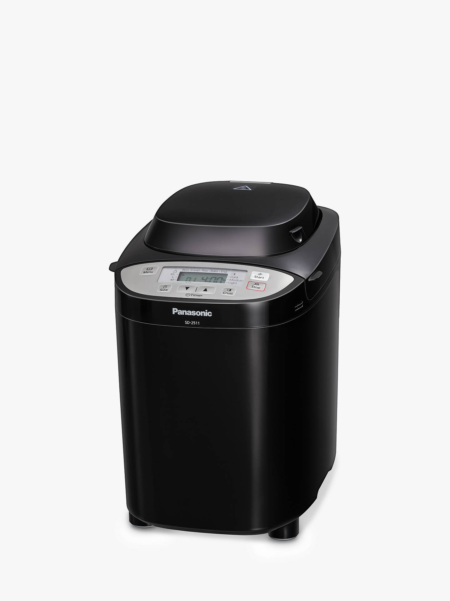 Buy Panasonic SD-2511KXC Bread Maker, Black Online at johnlewis.com