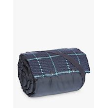 Buy John Lewis Large Picnic Rug, Green and Navy Online at johnlewis.com