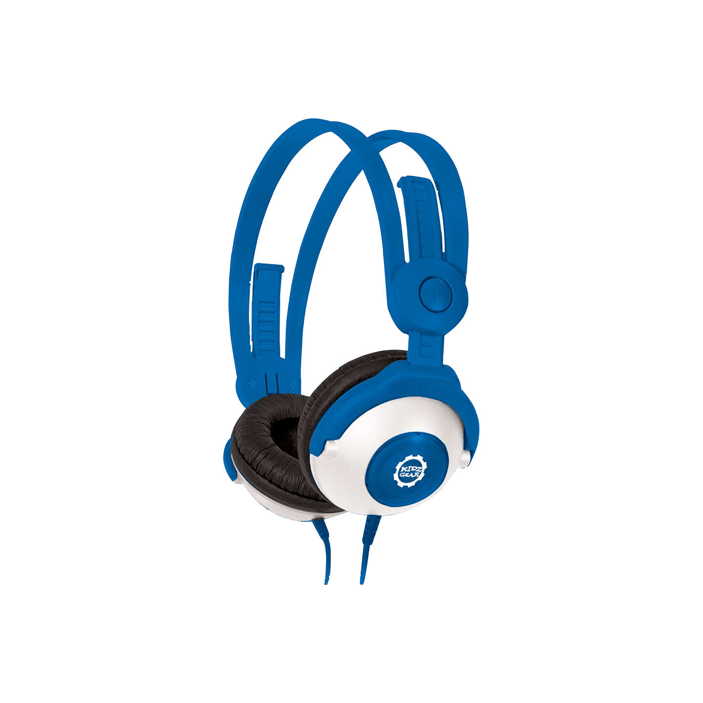 BuyKidz Gear Volume Limiting On-Ear Headphones For Children, Blue Online at johnlewis.com