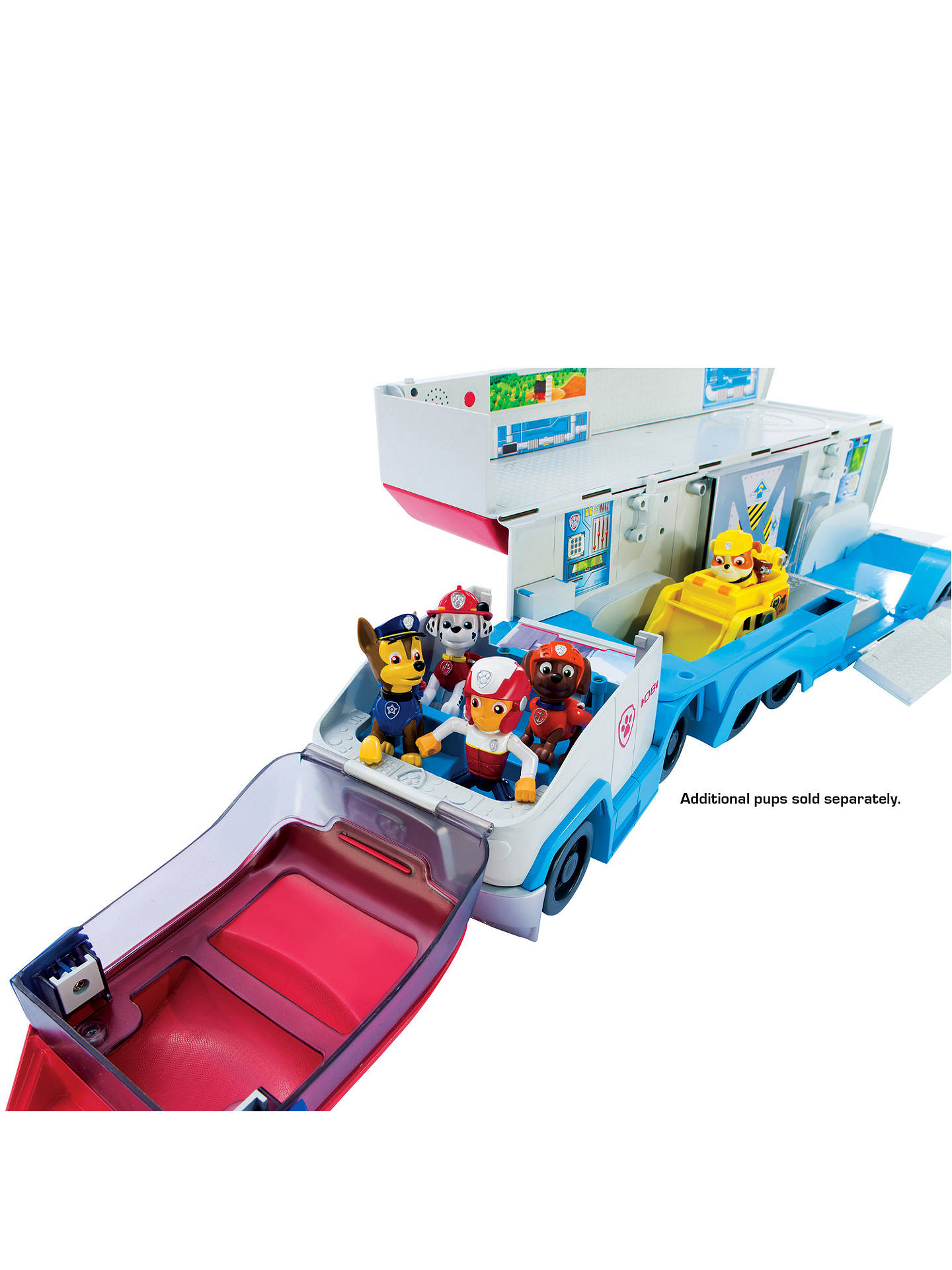 Buy Paw Patrol Paw Patroller Vehicle Online at johnlewis.com