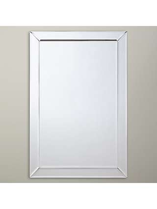 John Lewis Partners Bevel Simple Wall Mirror 90 X 60cm At