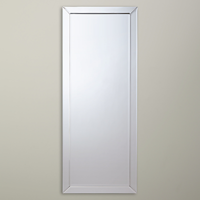 John Lewis Bevel Simple Mirror, 150 x 60cm