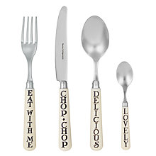 Buy Emma Bridgewater Black Toast Cutlery  Online at johnlewis.com