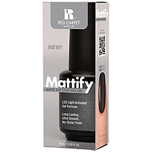 Buy Red Carpet Manicure Mattify Top Coat, 9ml Online at johnlewis.com
