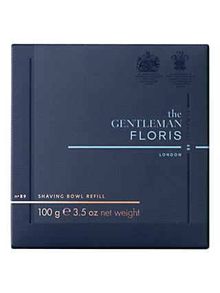 Floris No.89 The Gentleman Shaving Soap Refill, 100g