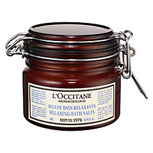 Buy L'Occitane Aromachologie Relaxing Bath Salts, 300ml Online at johnlewis.com