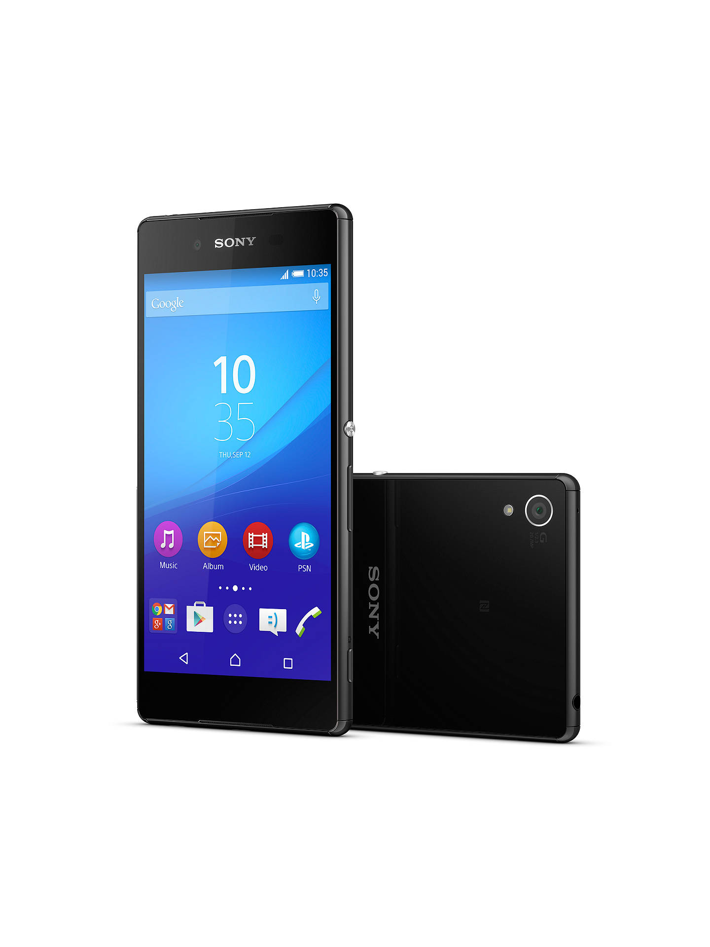 "Buy Sony Xperia Z3+ Smartphone, Android, 5.2"", 4G LTE, SIM Free, 32GB, Black Online at johnlewis.com"