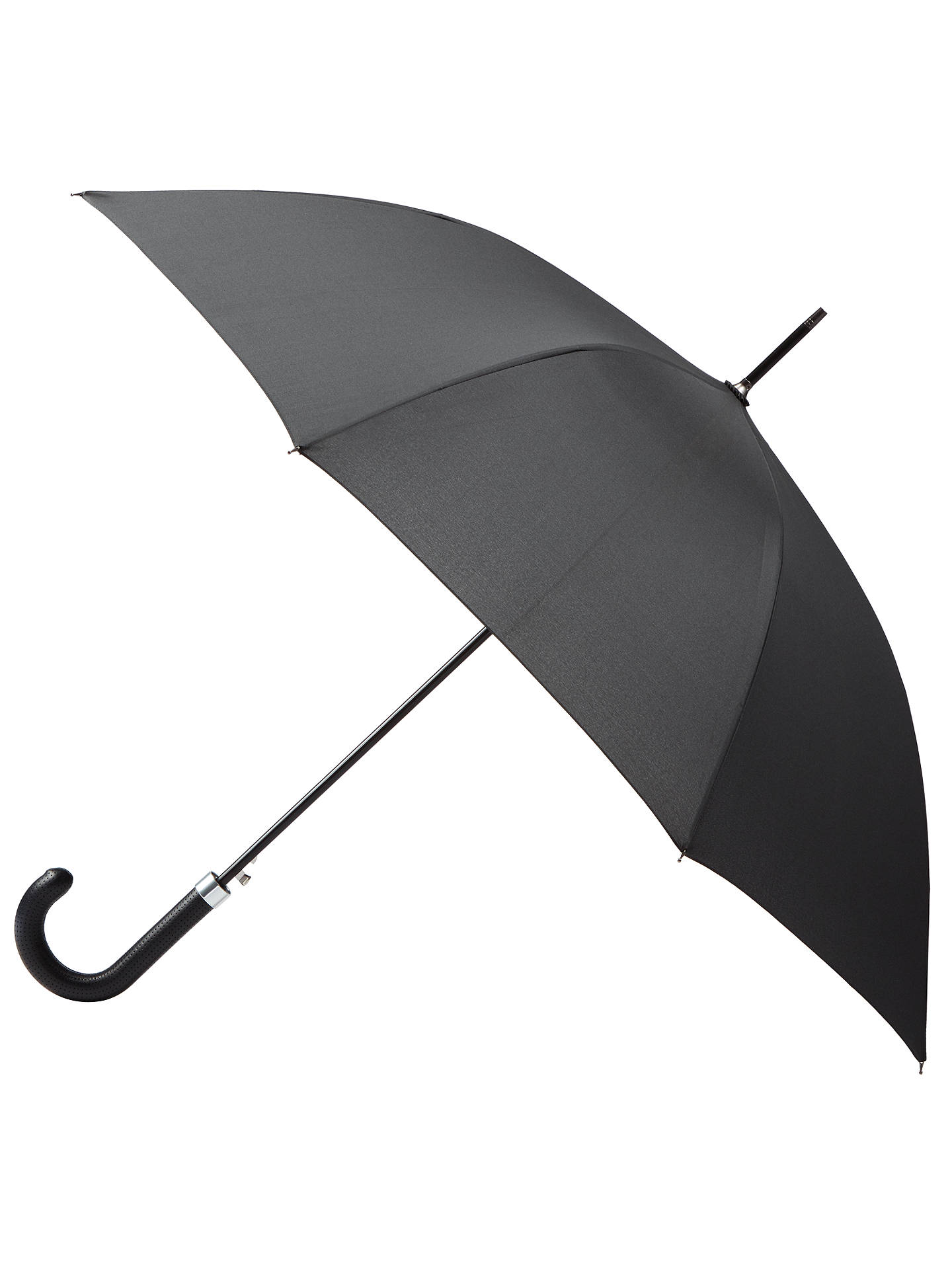BuyKin Perforated Handle Umbrella, Black Online at johnlewis.com