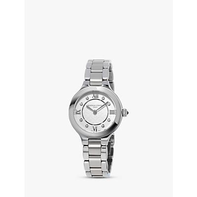 Frédérique Constant FC-200WHD1ER36B Women's Classics Delight Diamond Bracelet Strap Watch, Silver