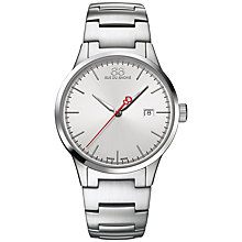 Buy 88 Rue Du Rhone 87WA154101 Men's Rive Stainless Steel Bracelet Strap Watch, Silver Online at johnlewis.com