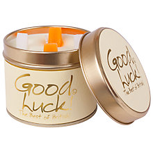 Buy Lily-Flame Good Luck! Scented Candle Tin Online at johnlewis.com