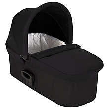Buy Baby Jogger Deluxe Carrycot, Black Online at johnlewis.com