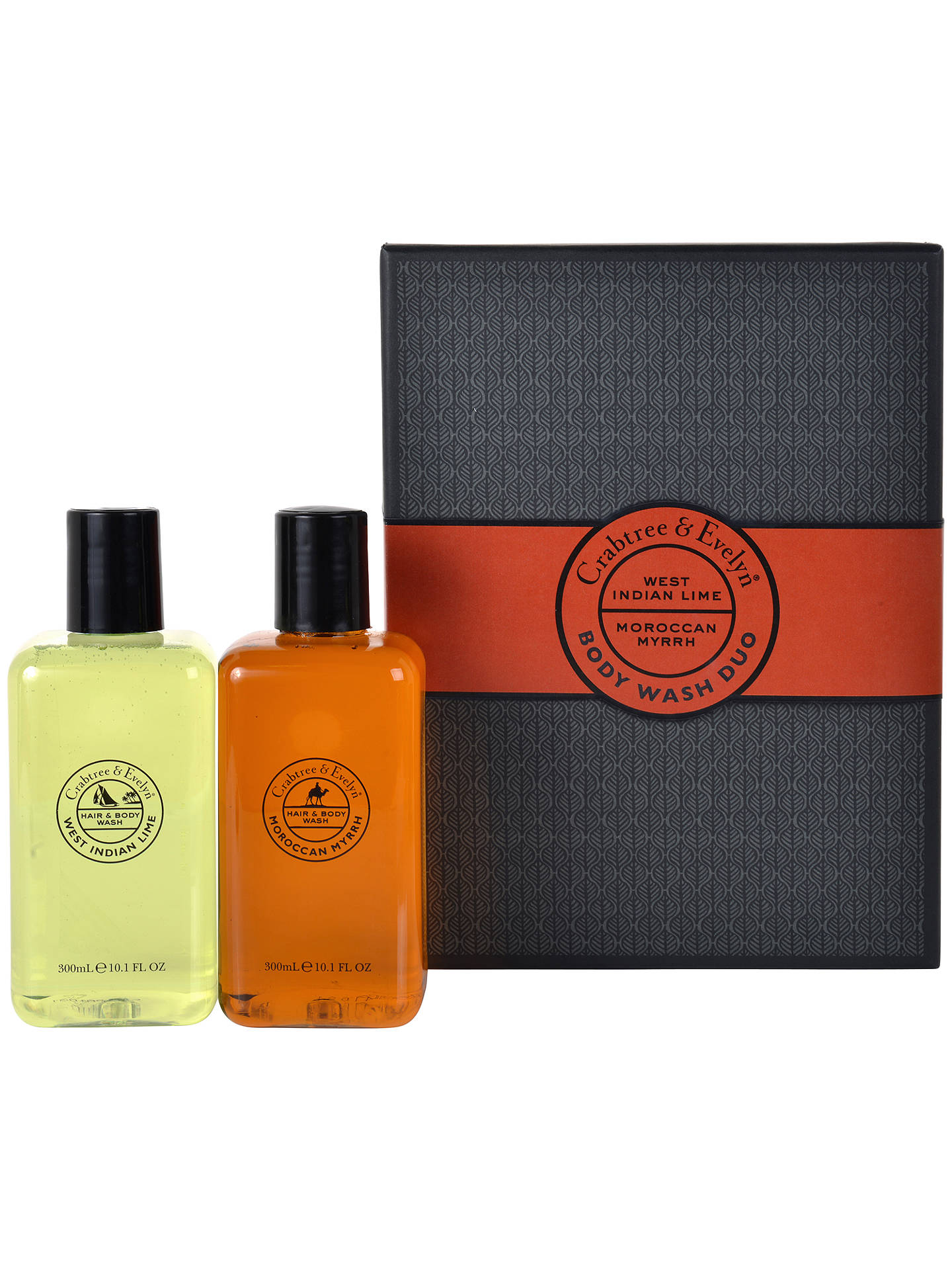 Buy Crabtree & Evelyn Men's Body Wash Gift Set Online at johnlewis.com
