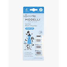 Buy Acana Modelli Aqua Lux Moth Proofer Sachet, Pack of 4 Online at johnlewis.com