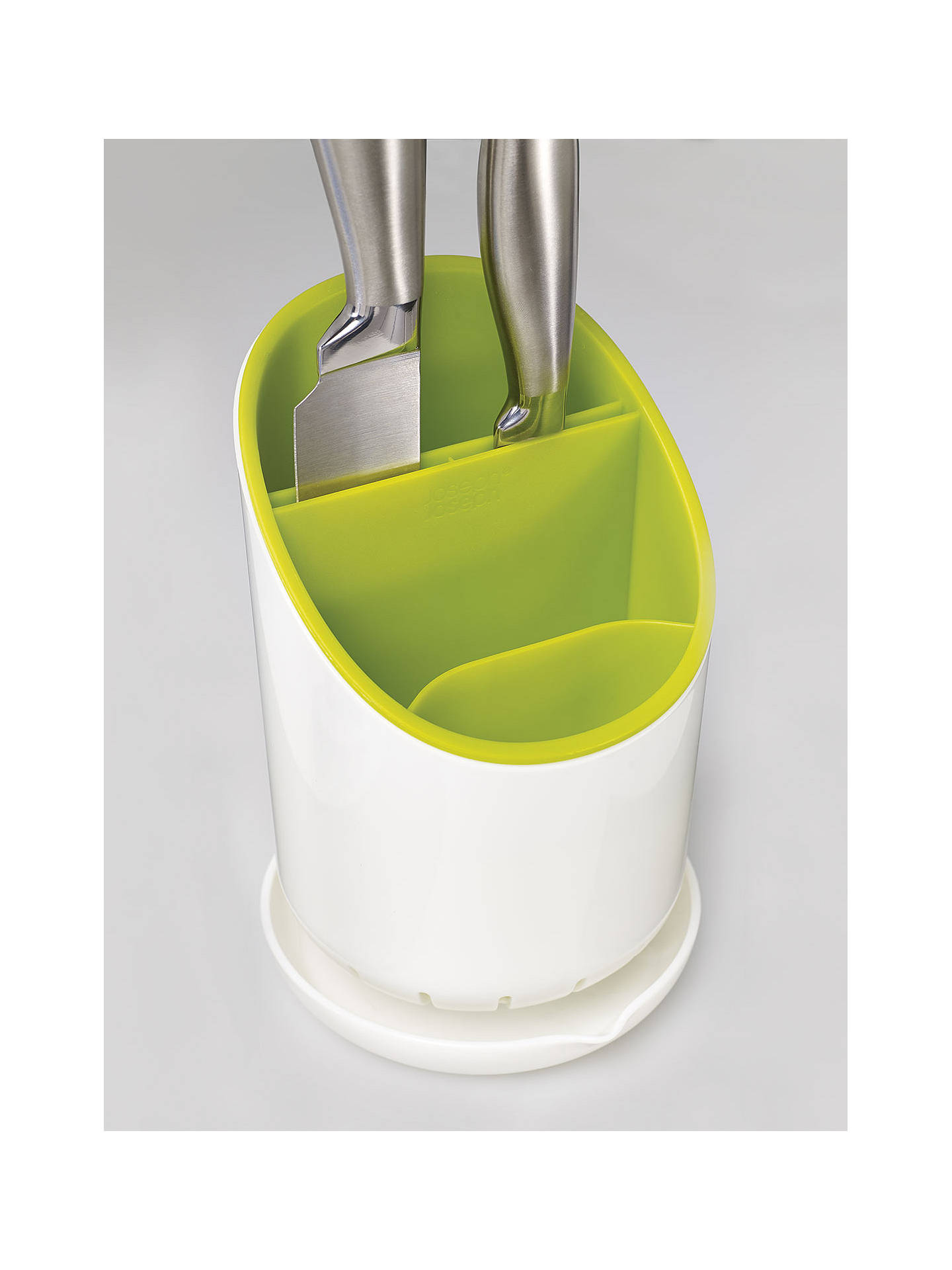 Buy Joseph Joseph Dock Cutlery Drainer, Green Online at johnlewis.com