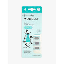 Buy Acana Modelli Bouquet Vert Moth Proofer Sachet, Pack of 4 Online at johnlewis.com