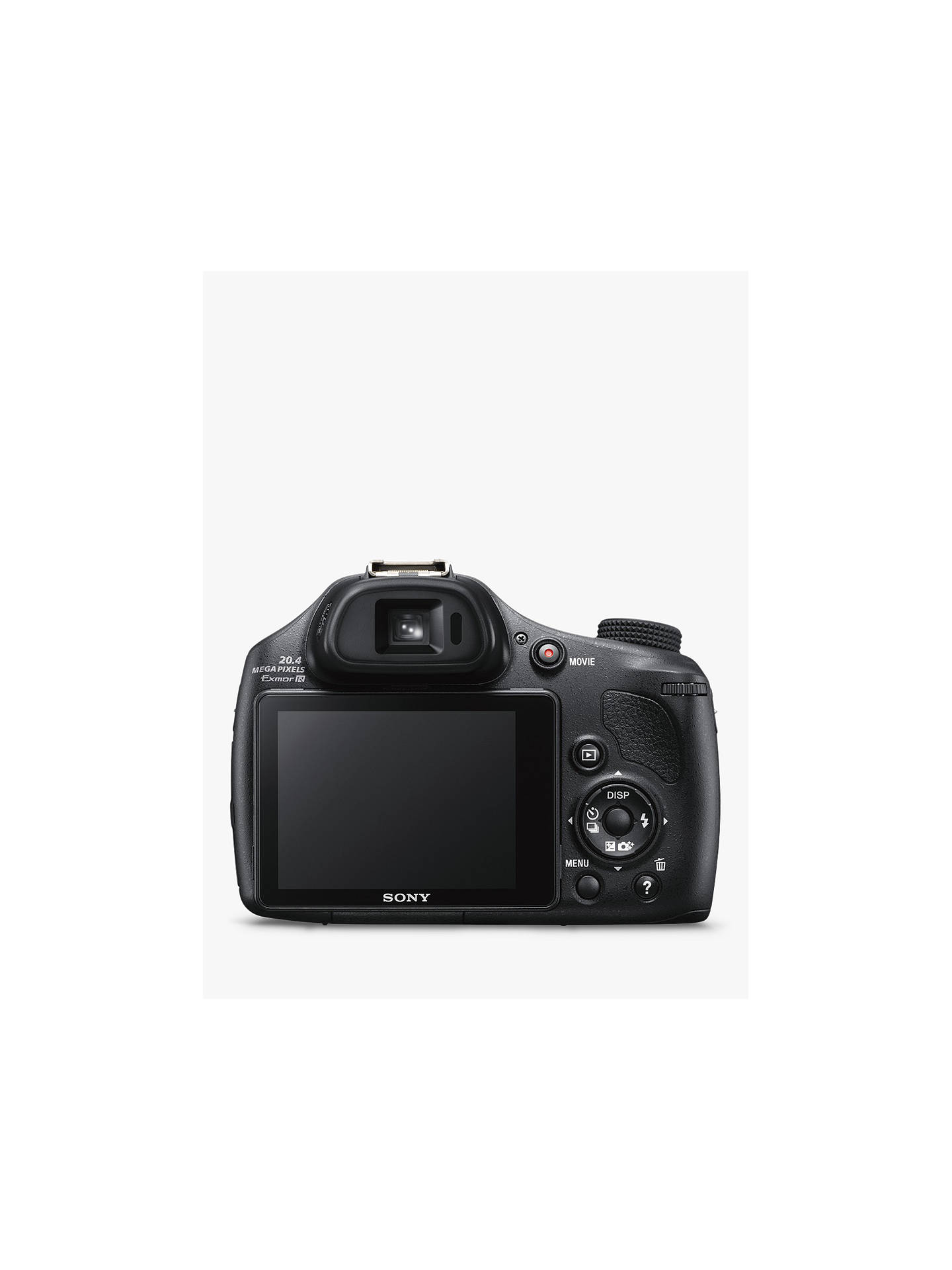 "Sony Cyber-shot DSC-HX400 Smart Bridge Camera, HD 1080p, 20 4MP, 50x  Optical Zoom, 200x Digital Zoom, Wi-Fi, NFC, GPS, 3"" LCD Screen"