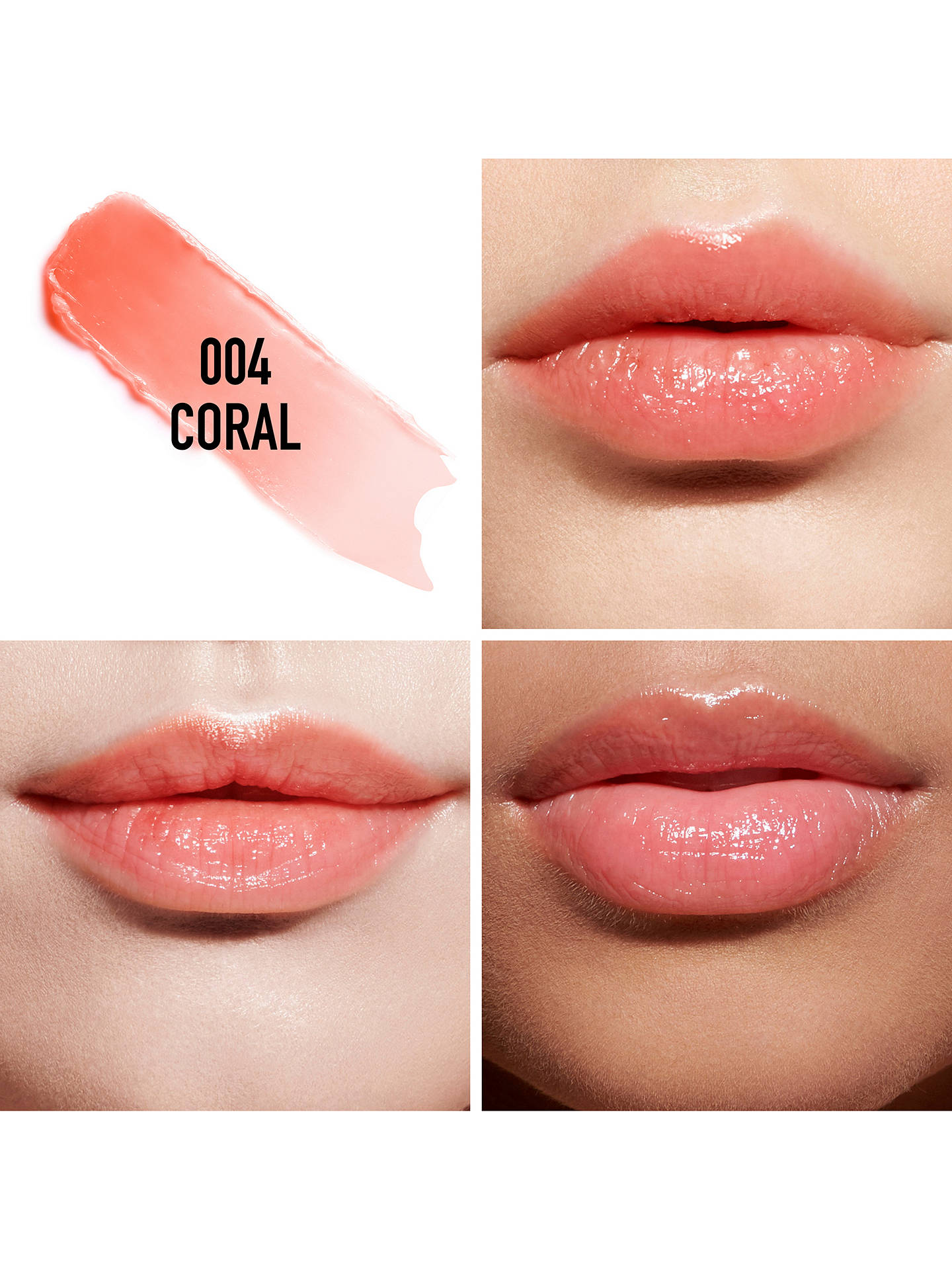 BuyDior Addict Lip Glow, 004 Coral Online at johnlewis.com