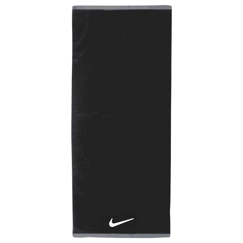 Nike Fundamental Cotton Towel, Black At John Lewis