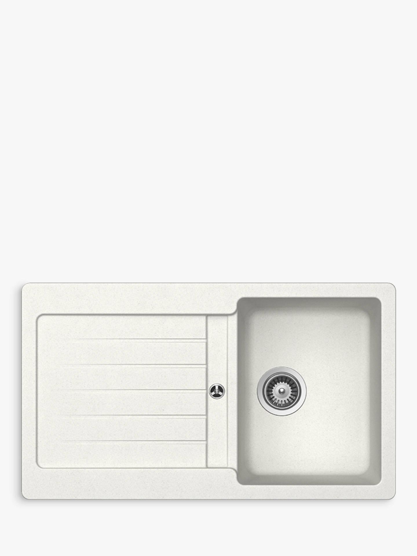 Schock Typos Single Bowl Kitchen Sink At John Lewis & Partners