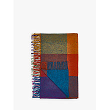 Buy Avoca Heavy Herringbone Check Wool Throw Online at johnlewis.com