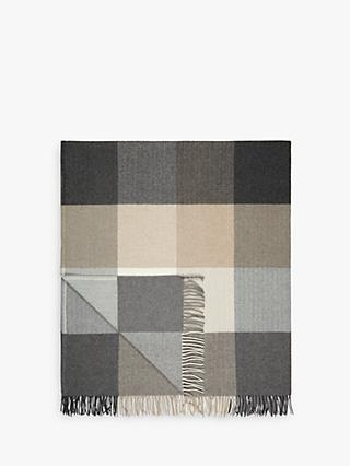Avoca Rome Throw, Grey