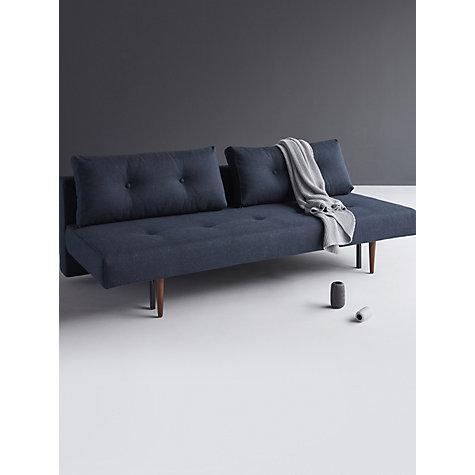 ... Buy Innovation Recast Sofa Bed with Pocket Sprung Mattress, Dark Leg, Blue Nist Online ...