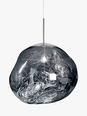 Buy Tom Dixon Melt Pendant Ceiling Light, Chrome Online at johnlewis.com