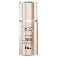 Buy Dior Capture Totale Eye Serum, 15ml Online at johnlewis.com