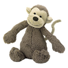 Buy Jellycat Bashful Monkey Soft Toy, Huge Online at johnlewis.com