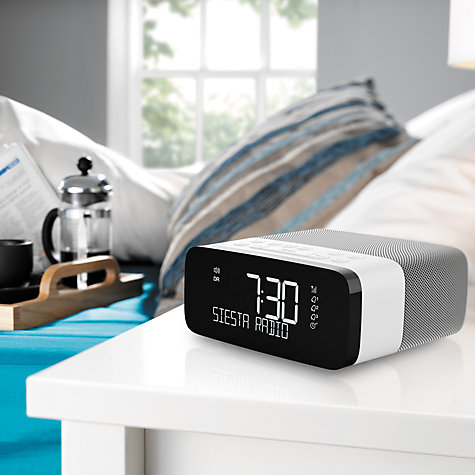 Buy Pure Siesta Rise DAB/FM Bedside Clock Radio Online at johnlewis.com