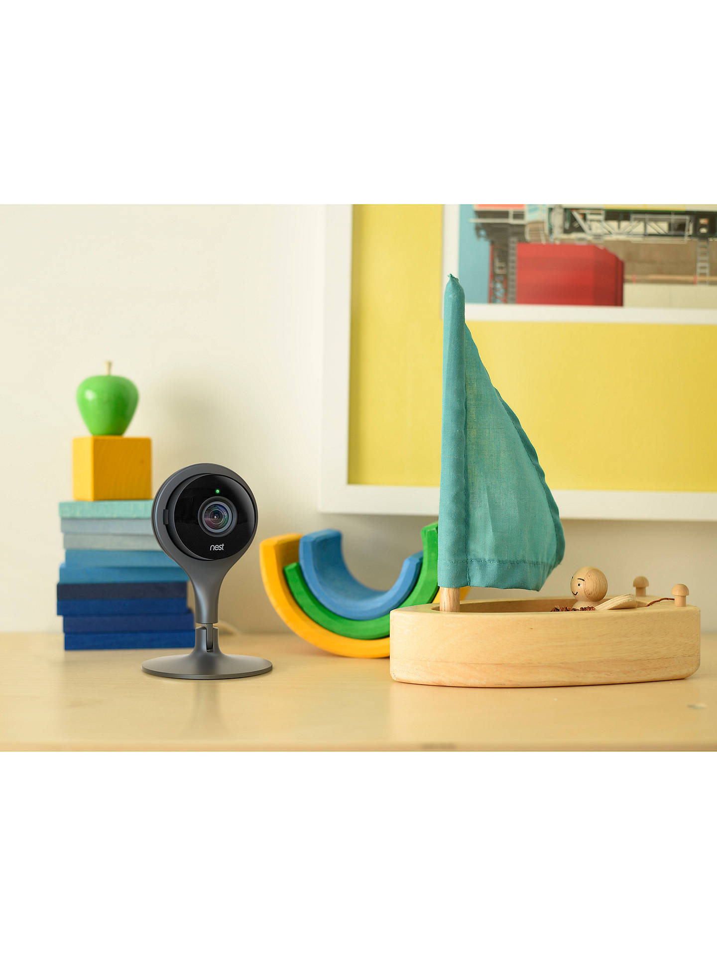 BuyNest Cam Indoor Security Camera Online at johnlewis.com