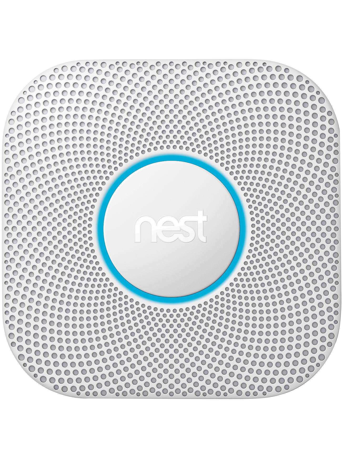 Google Nest Protect Smoke Carbon Monoxide Alarm Battery At John Lewis Partners