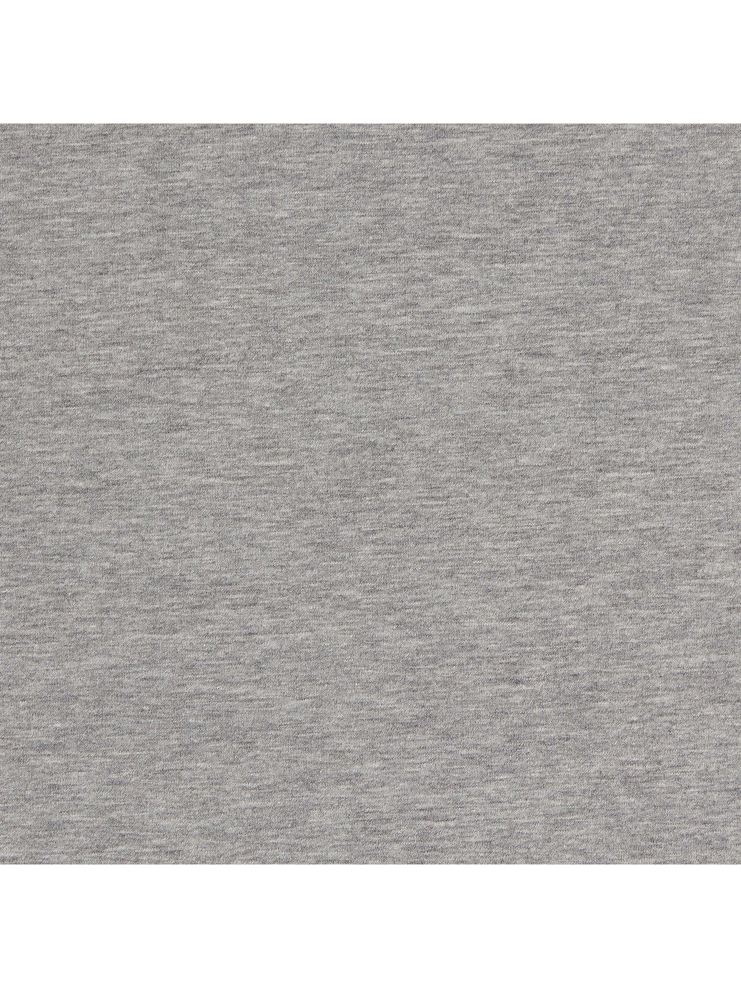 Buy Stretch Cotton Jersey Fabric, Grey Marl Online at johnlewis.com