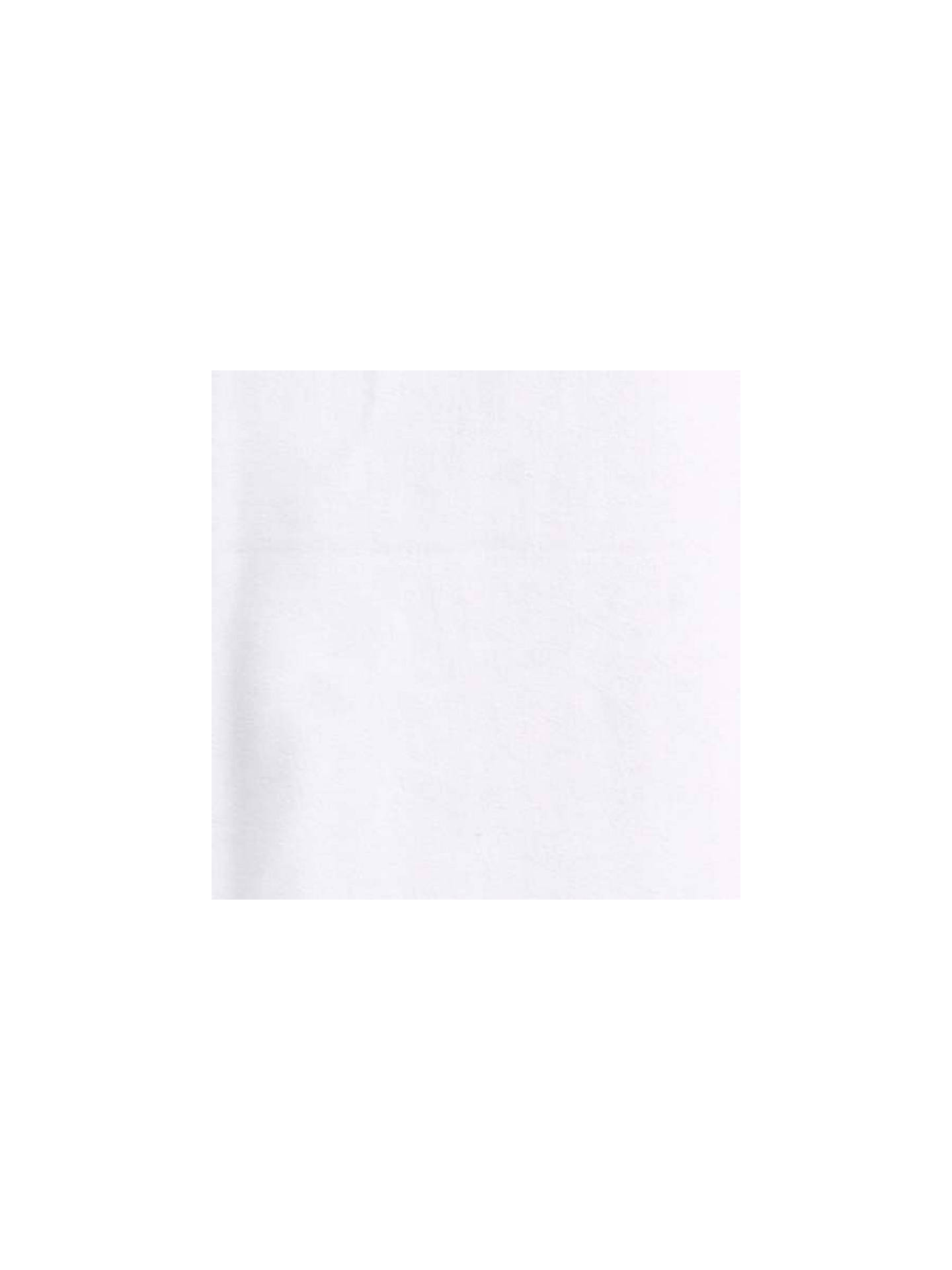 Buy Stretch Cotton Jersey Fabric, White Online at johnlewis.com