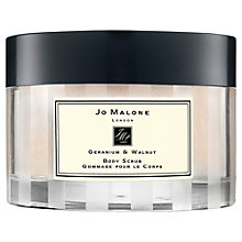 Buy Jo Malone London Geranium & Walnut Body Scrub, 200g Online at johnlewis.com