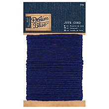 Buy Docrafts Jute Cord, Inky Denim, 10m Online at johnlewis.com