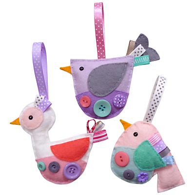 Paper and String Sew Your Own Hanging Birds Craft Kit