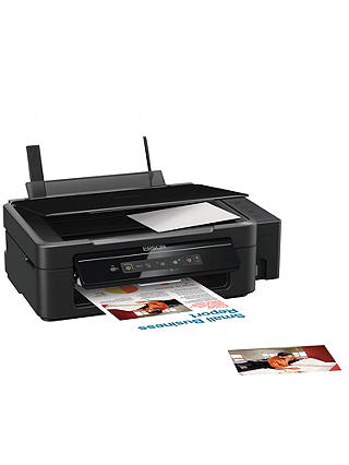 Buy Epson Ecotank L355 All-In-One Wireless Printer with High Capacity Tank System & 2 Years Ink Supply Included Online at johnlewis.com