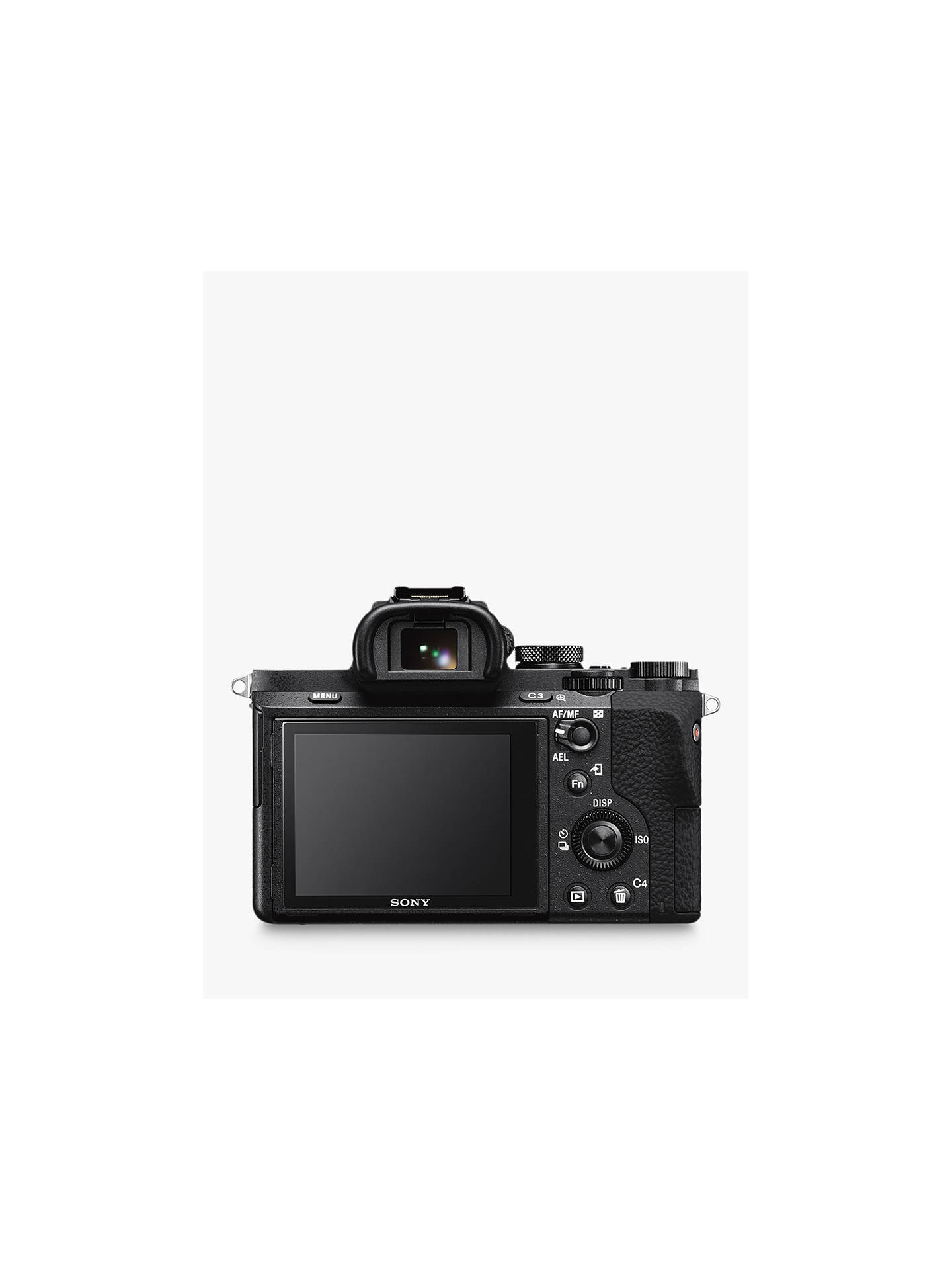 "Buy Sony a7 II (Alpha ILCE-7M2) Compact System Camera With HD 1080p, 24.3MP, Wi-Fi, NFC, OLED EVF, 5-Axis Image Stabiliser & 3"" LCD Screen, Body Only Online at johnlewis.com"