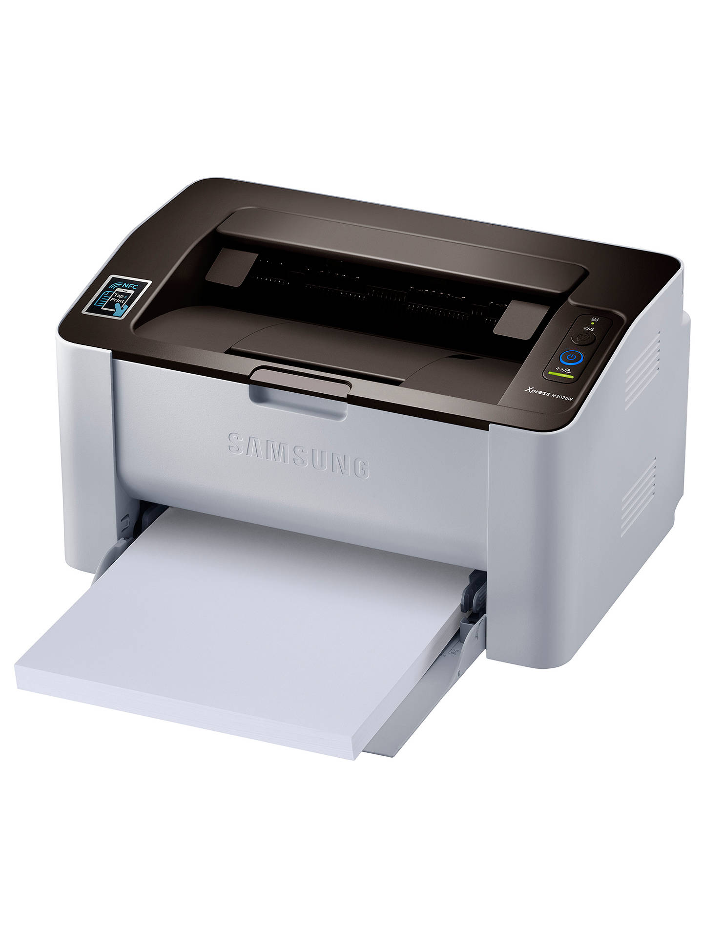 BuySamsung Xpress M2026W Monochrome Laser Printer with NFC Online at johnlewis.com