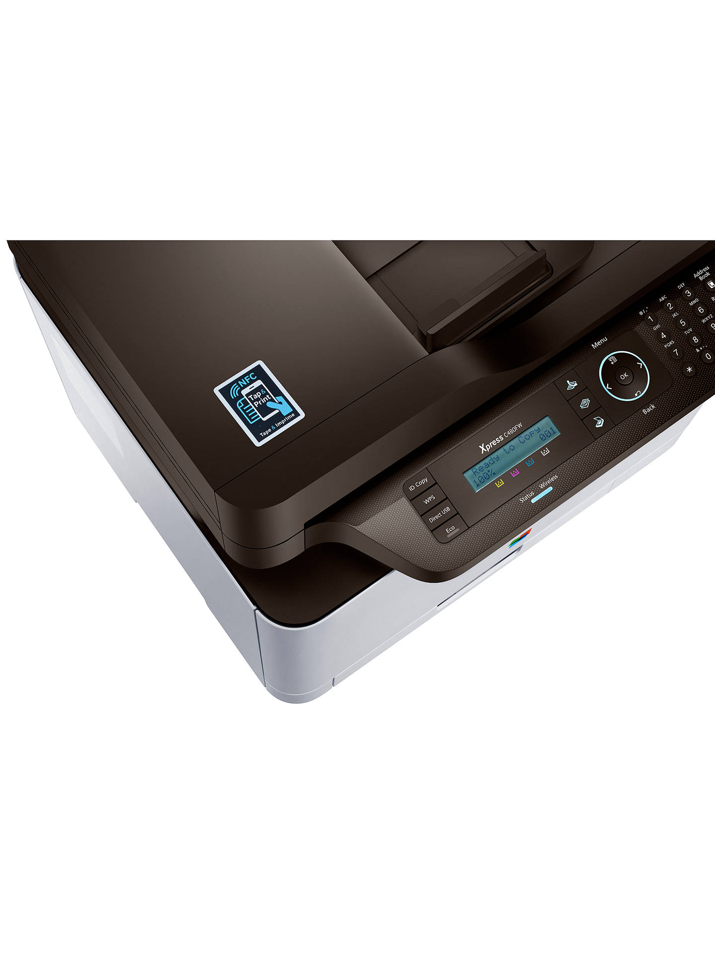BuySamsung Xpress C480FW Wireless NFC 4-in-1 Colour Laser Printer Online at johnlewis.com