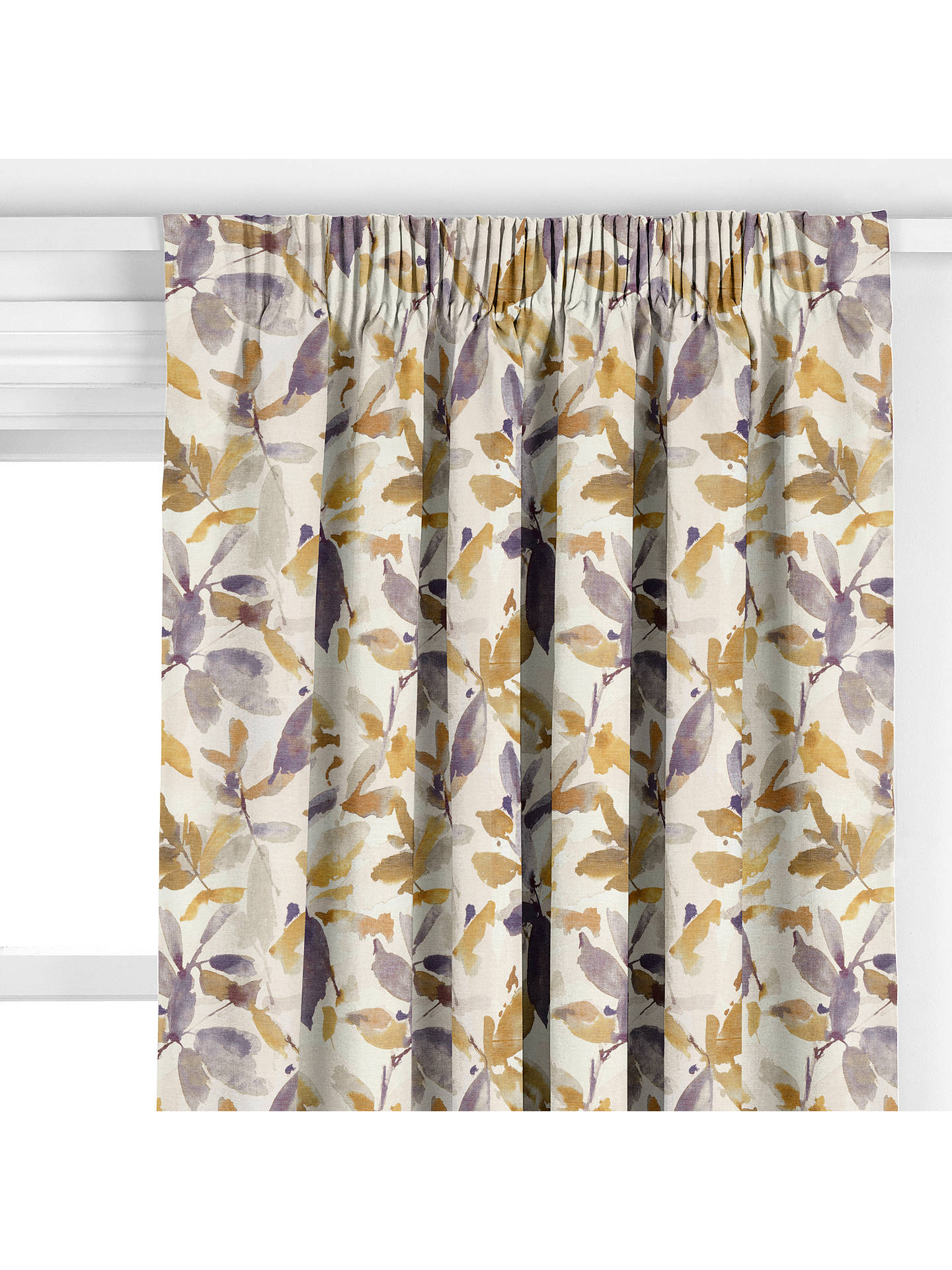 BuyAlexa Curtain, Brown Online at johnlewis.com
